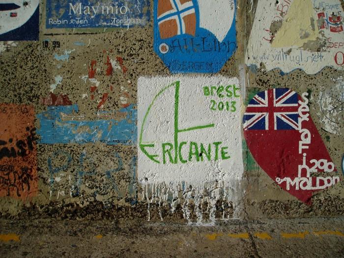 2013-11-14 9h50 notre trace à Porto Santo.JPG